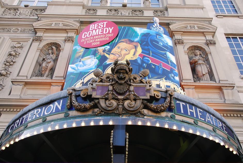 Piccadilly Circus - Criterion Theatre Exterior