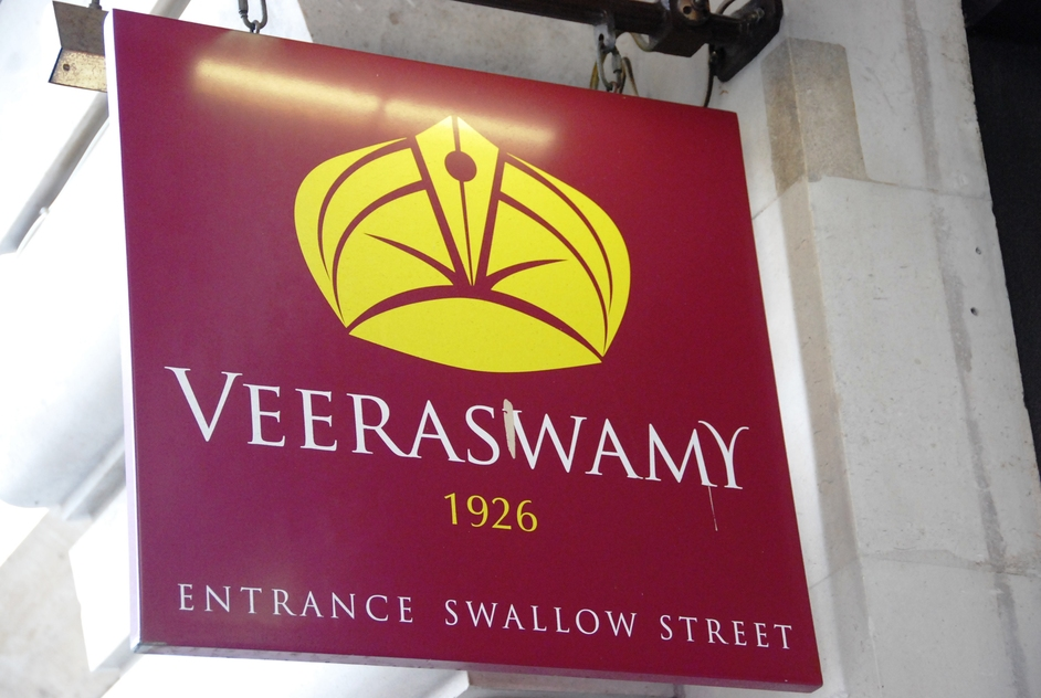 Veeraswamy - Veeraswamy Sign