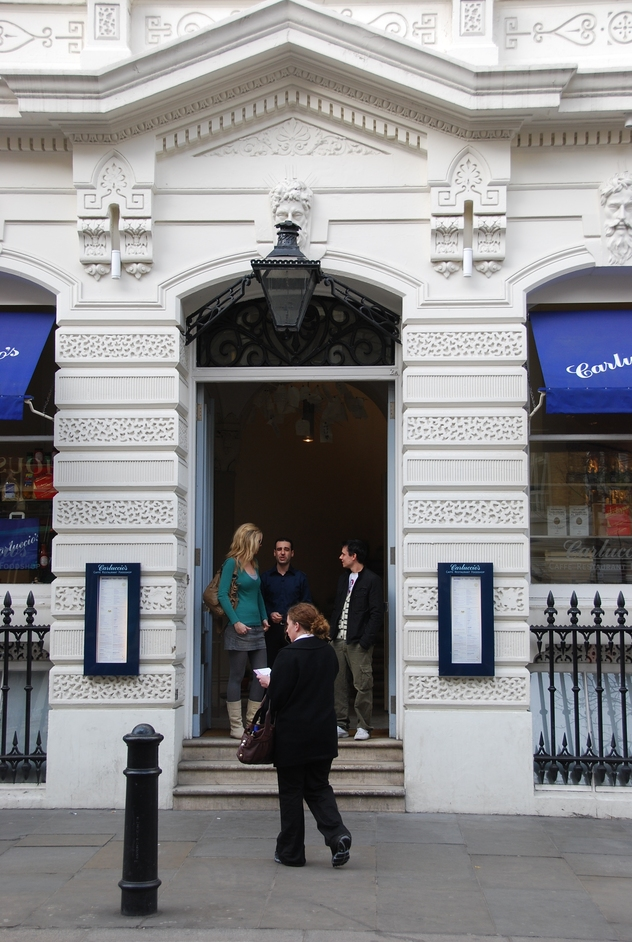 New Row - Carluccio's In Covent Garden