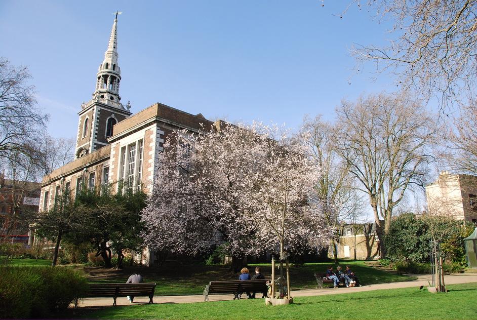Rothery Street - St Mary's Islington Gardens