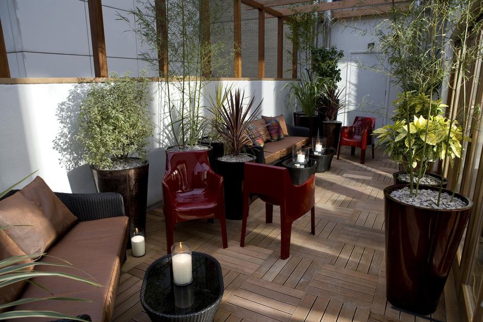 Warwick Street - Roof garden