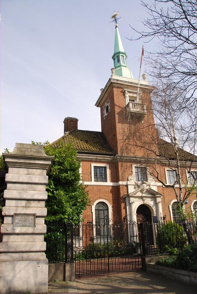 Norwegian Church and Seamen's Mission - Norwegian Church Exterior