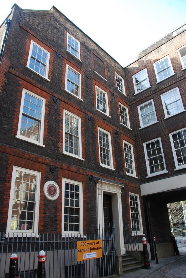 Doctor Johnson's House - Dr Johnson's House Exterior