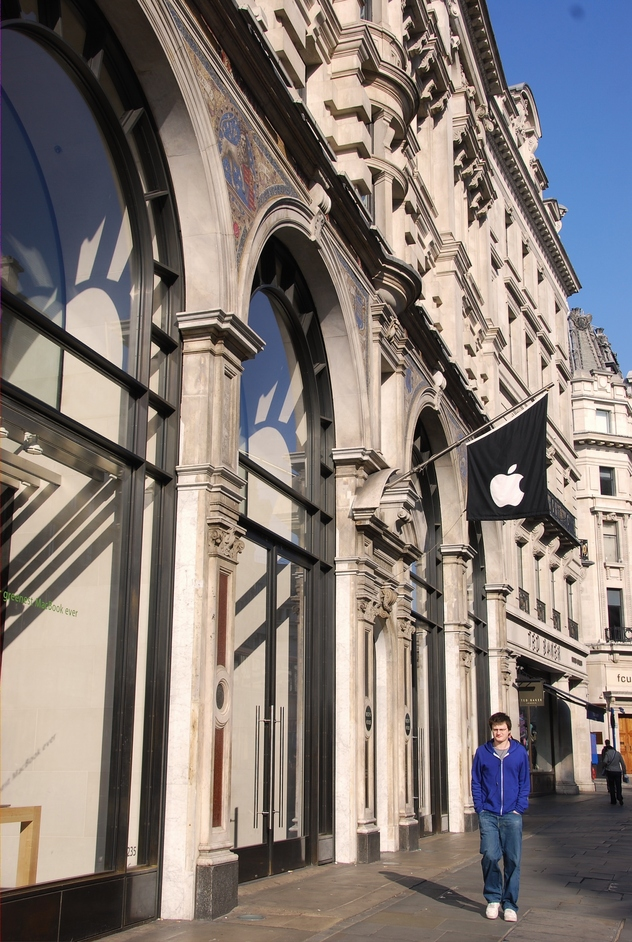 The Apple Store: Regent Street - The Exterior Of The Apple Store