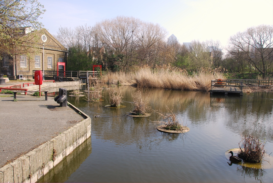 Pumphouse Educational Museum - Lavender Pond In Rotherhithe