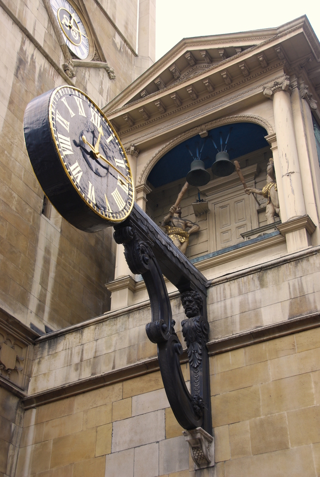 St Dunstan in the West - St Dunstan's In The West Clock