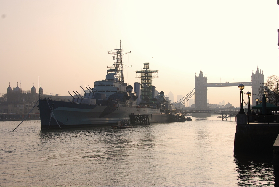 HMS Belfast: 75th anniversary - View Of H.M.S Belfast