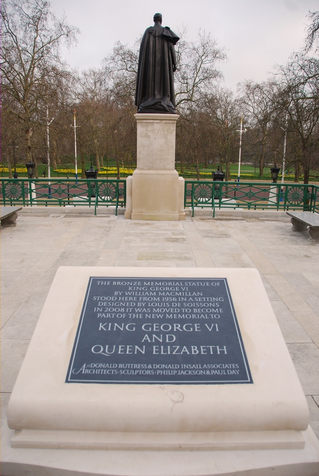 St James's Park - St James's Park Queen Mother & King George VI Memorial