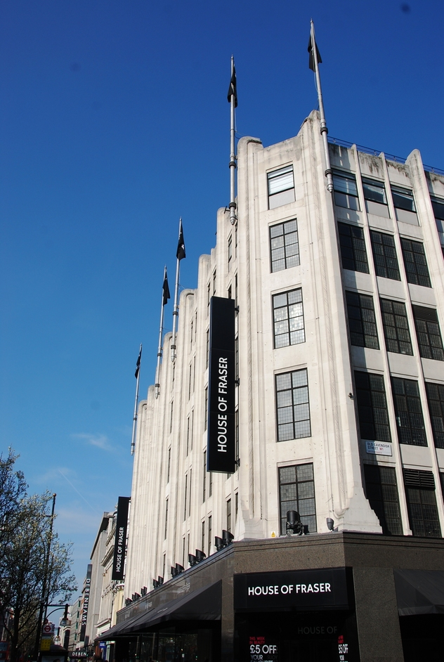 Chapel Place - House Of Fraser Exterior