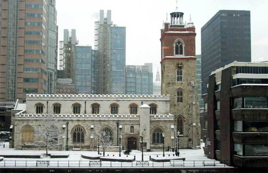 St Giles Church, Cripplegate