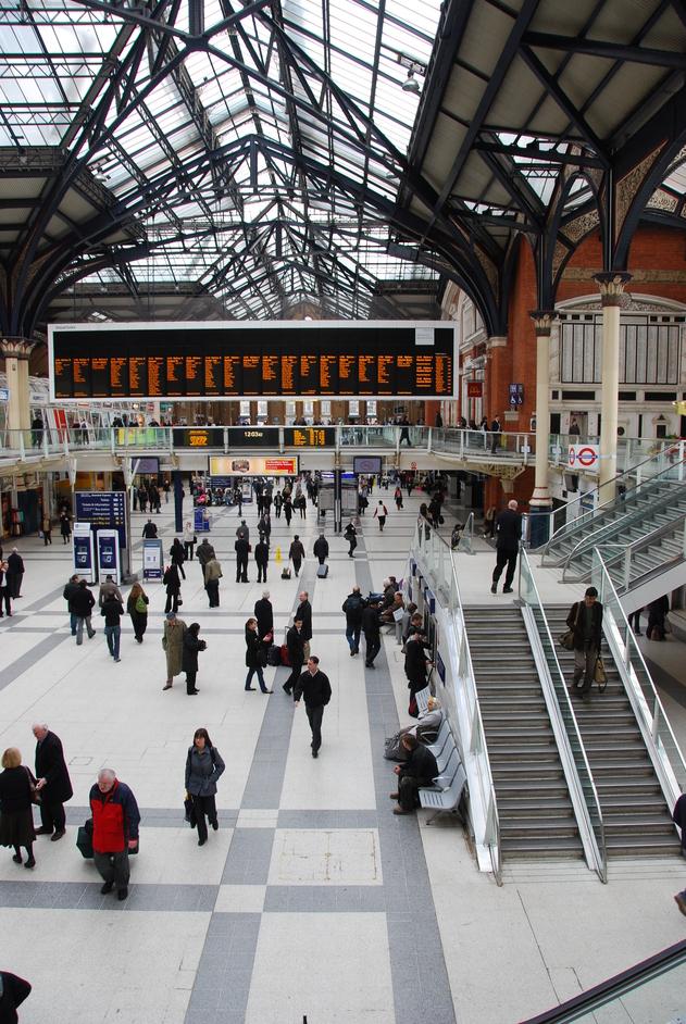 Liverpool Street Railway Station - Liverpool Street Station
