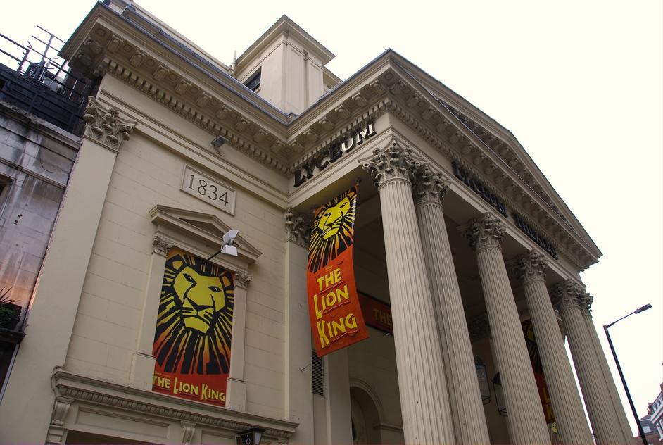Exeter Street - Lyceum Theatre Exterior