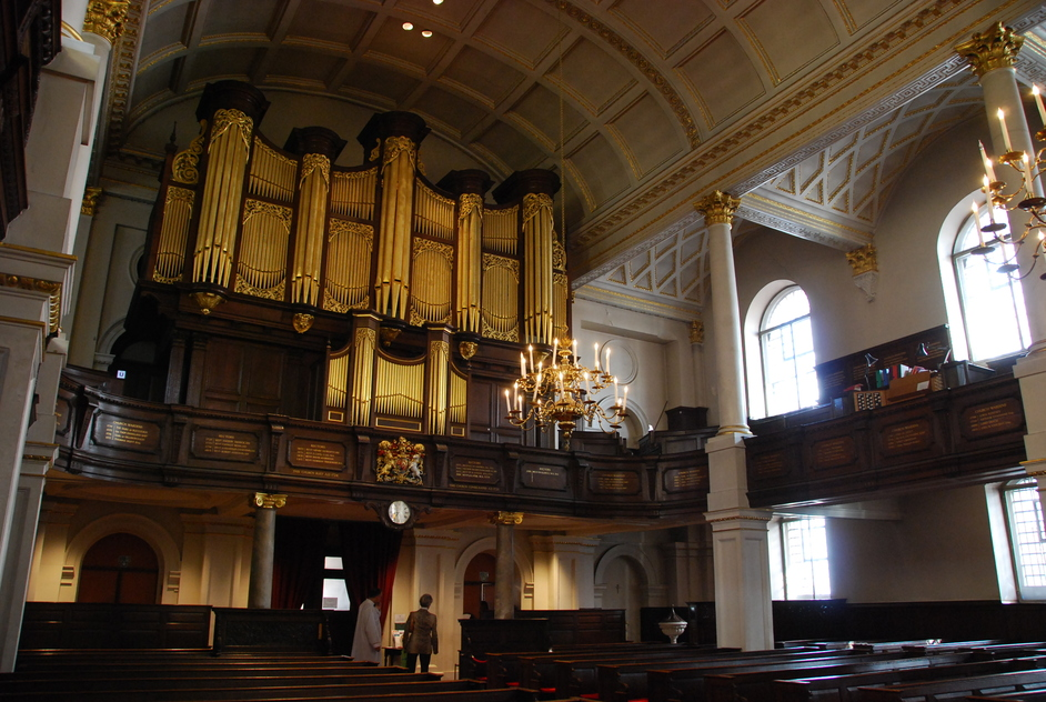 St George's Church Hanover Square - St George's Hanover Square Interior
