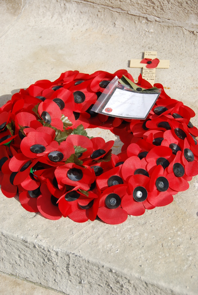 Remembrance Sunday - Poppy Wreath