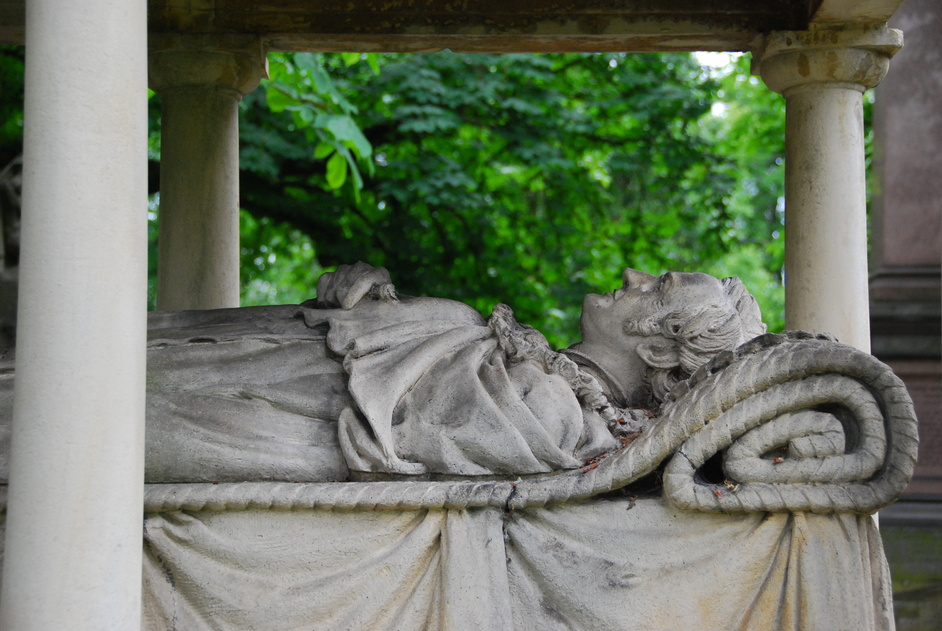 Kensal Green (All Souls) Cemetery - Tomb Of William Mulready