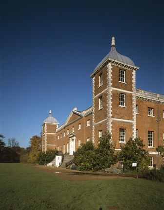 Easter Egg Hunt at Osterley - An angled view of the west front of Osterley, and the tower on the south west corner © NTPL / Matthew Antrobus