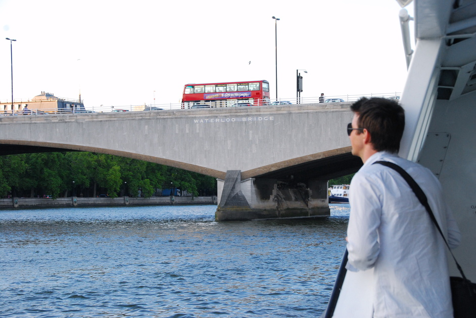 Thames Clippers - View Of Waterloo Bridge