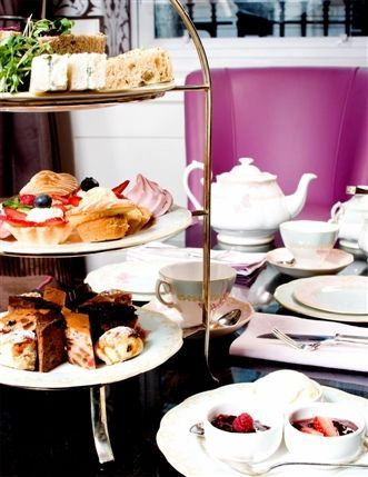 Men's Afternoon Tea at the Mandeville