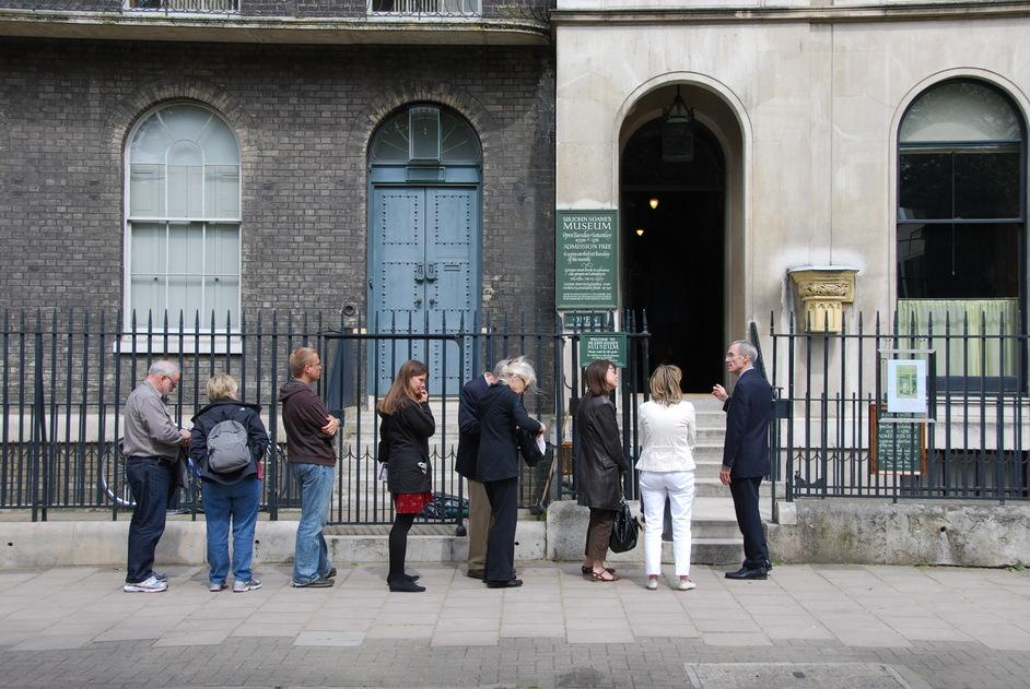 Sir John Soane's Museum - Sir John Soane 's Museum Exterior