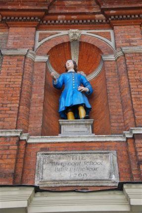 National Trust Gift Shop - Blewcoat School Exterior