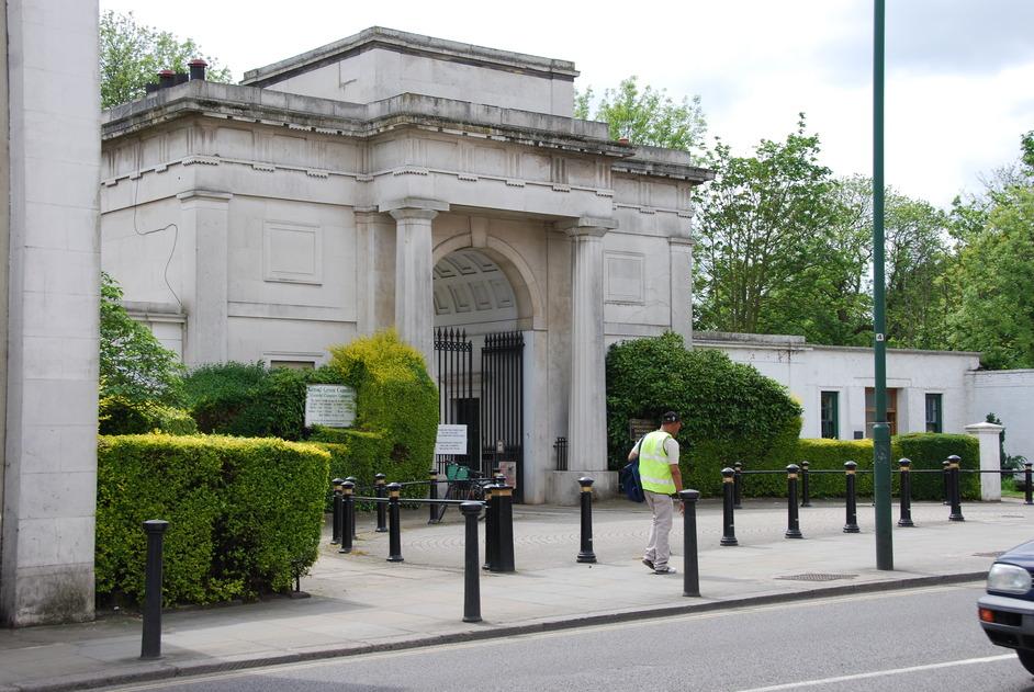 Kensal Green (All Souls) Cemetery - Main Entrance