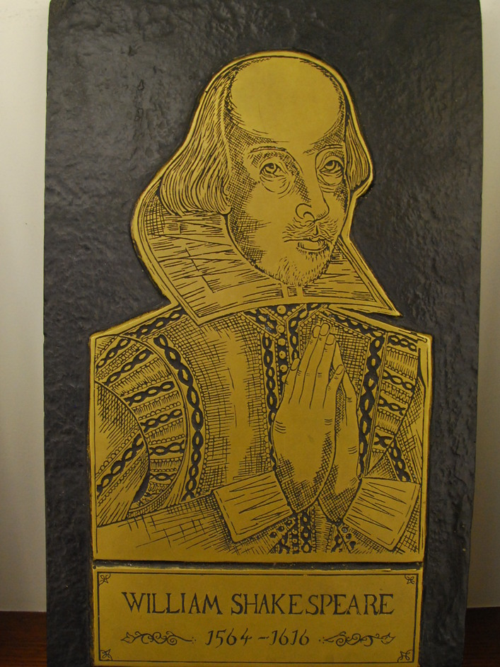 London Brass Rubbing Centre - Shakespeare Brass Rubbing