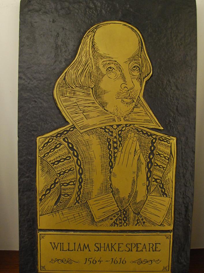 London Brass Rubbing Centre - Shakespeare Brass Rubbing