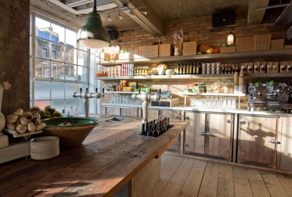 Pizza east shoreditch high street online booking london for Shoreditch interior design