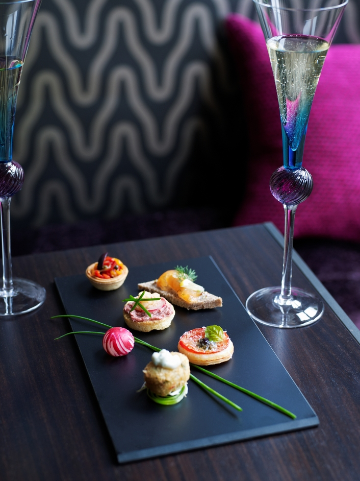 Flemings Mayfair Afternoon Tea - Canapes