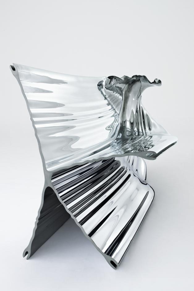 Heatherwick Studio: Designing The Extraordinary - Extrusions, Haunch of Venison Gallery, London, UK 2009 © Peter Mallet