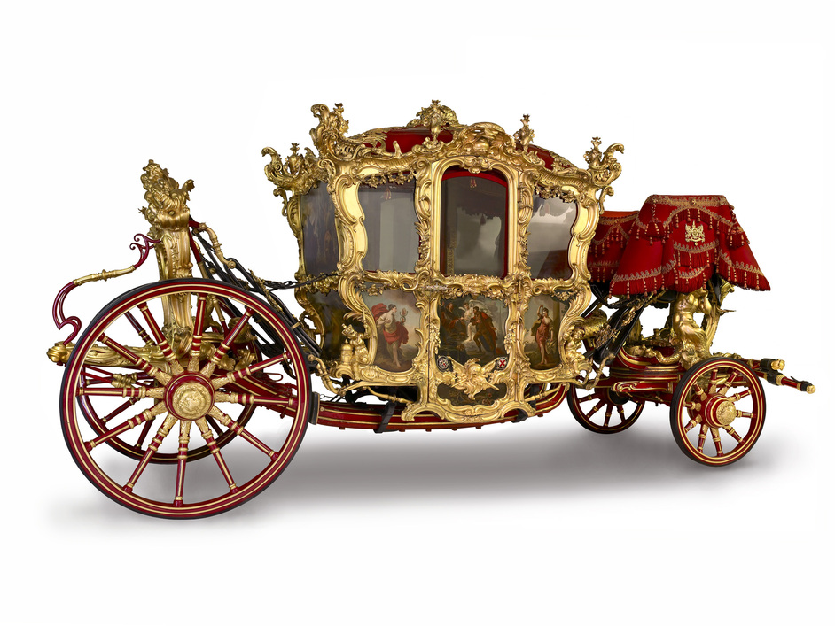 Museum of London - Museum of London - Galleries of Modern London, Lord Mayor's Coach, 1757