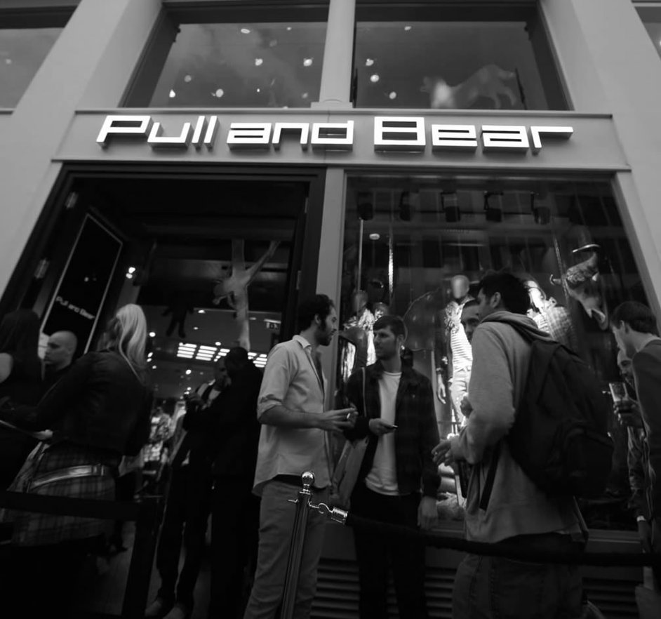 Pull and Bear, Oxford Street, London