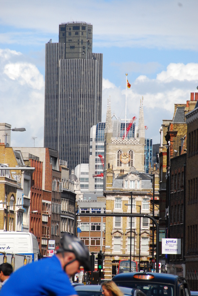 Tower 42 - formerly NatWest Tower - View From Borough High Street
