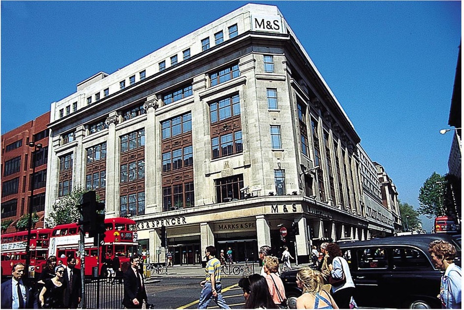 Marks Amp Spencer Oxford Street London Shopping