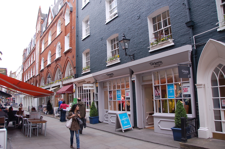 St Christopher S Place Images Marylebone London