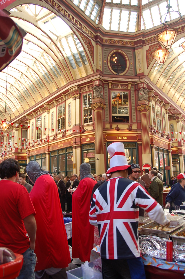 Leadenhall Market - St George's Day