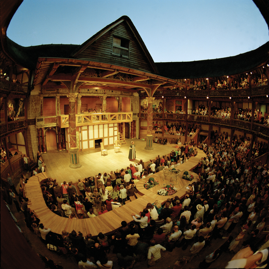 New Globe Walk - The Merry Wives of Windsor (2008 production), by John Tramper