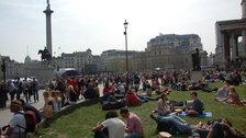 St George's Day, Trafalgar Square