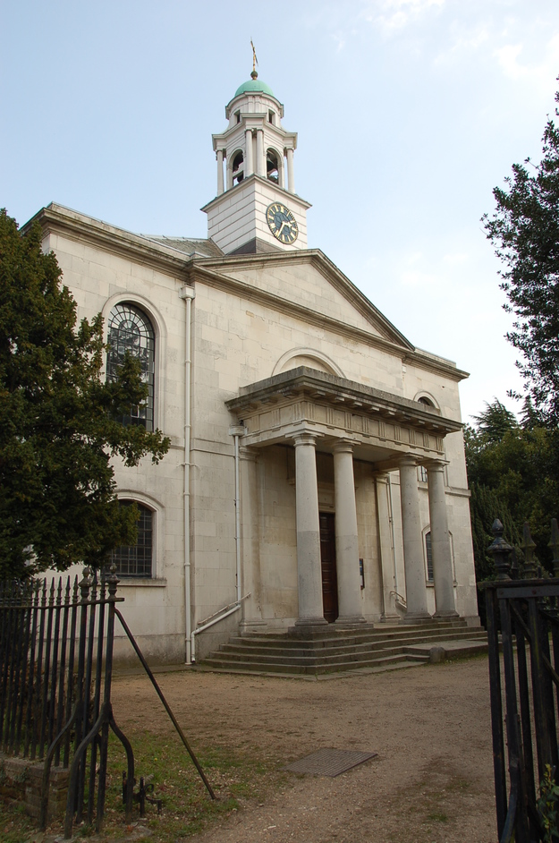 Clements Lane - St Mary The Virgin Church In Wanstead.  One Of The Finest 18th Century Churches In London