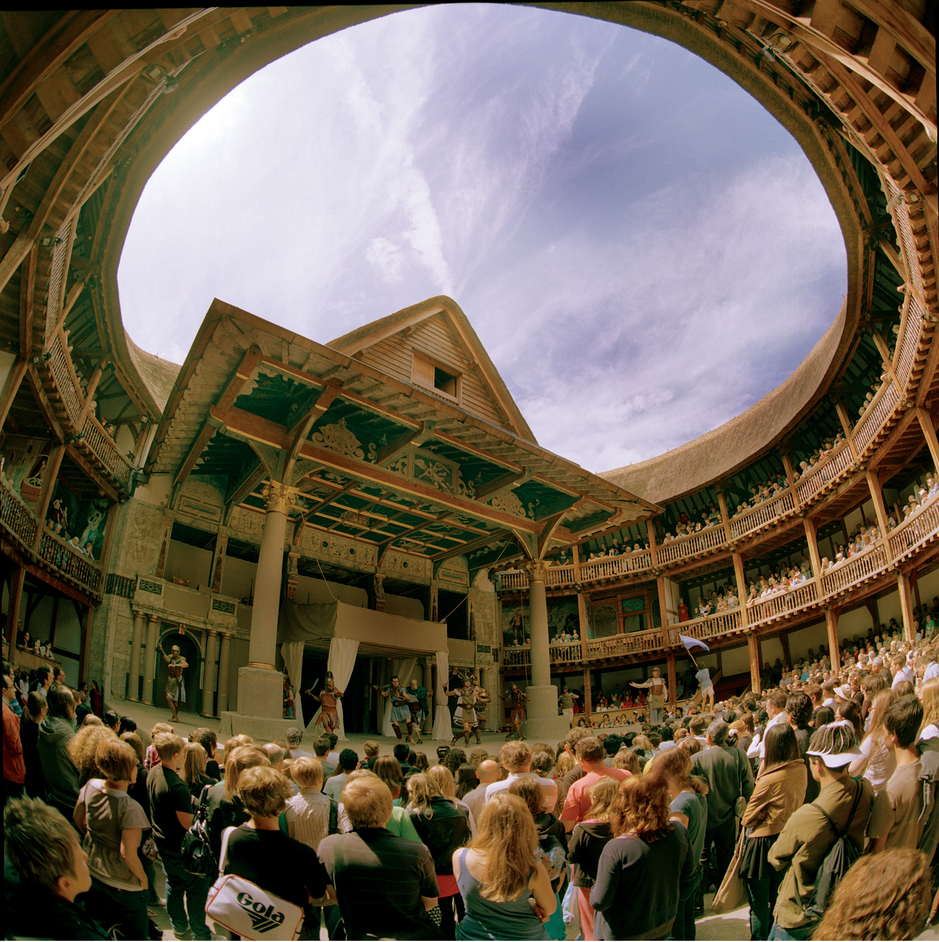 New Globe Walk - Trolius and Cressida (2009 production), by John Tramper