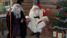 Santa & His Huskies at London Wetland Centre