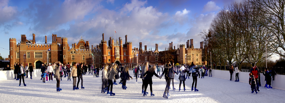 Hampton Court Palace Ice Rink