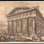 Master Drawings Uncovered: Piranesi's Paestum Drawings