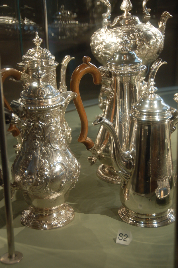 Courtauld Institute Gallery - Silver Coffee Pots