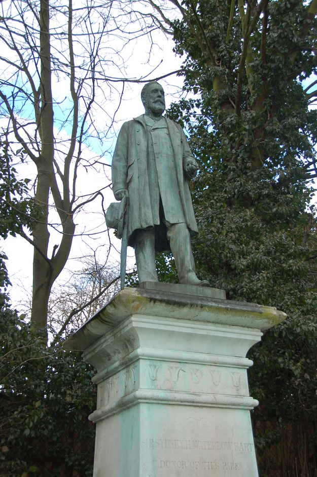 Waterlow Park - Statue of Sir Henry Waterlow, Former Lord Mayor of London & Creator Of The Park
