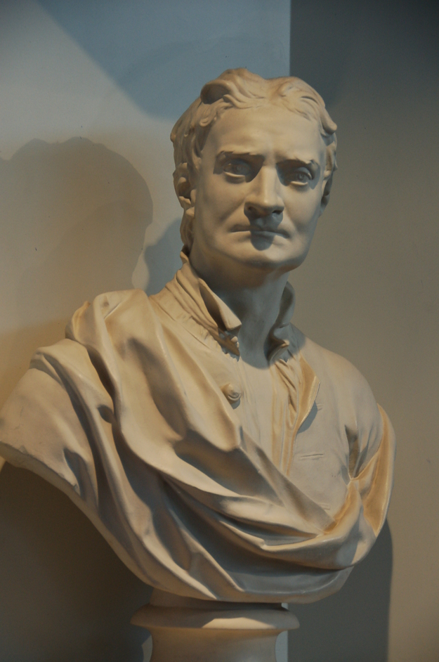 Science Museum - Bust of Sir Issac Newton
