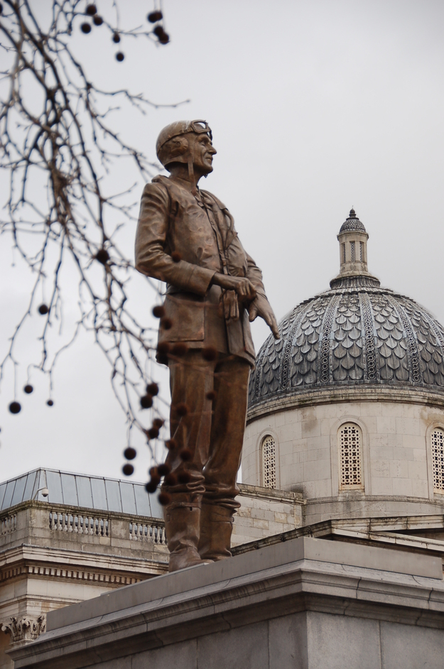 The Fourth Plinth - Statue Of Sir Keith Park
