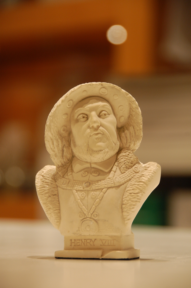 National Portrait Gallery - Minature bust of Henry VIII in the NPG shop