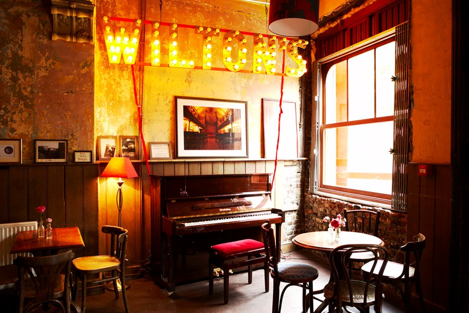 Wilton's Music Hall - The Mahogany Bar