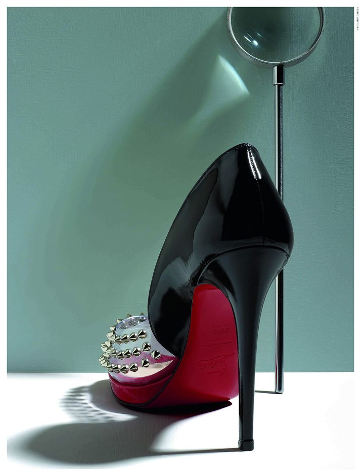 Christian Louboutin - © Philippe Garcia from Christian Louboutin book published by Rizzoli